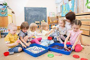 Kindergartenreinigung